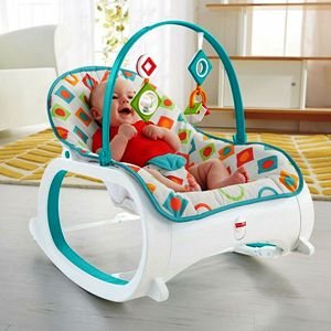 Stationary Baby Seat and Rocker