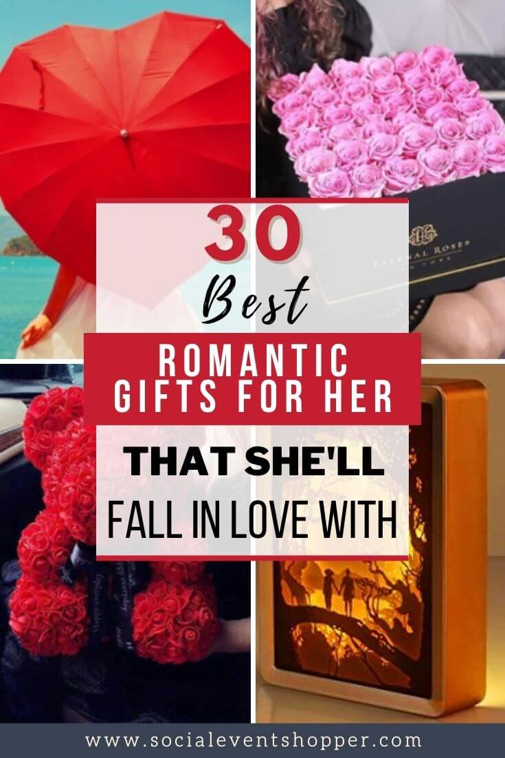 romantic gifts for her Pinterest