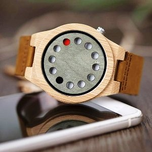 12 Holes Design Watch