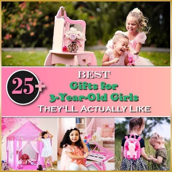 awesome gifts for 3 year old girls