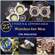 25+ Unique & Affordable Watches for Men on Amazon