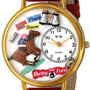 Horse Racing Leather Watch