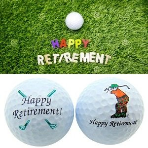 Retirement Golf Ball Set