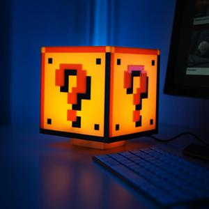 Super Mario Bros. Question Block Night Lamp