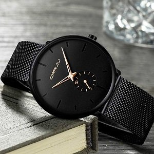 Ultra Thin Wrist Watch