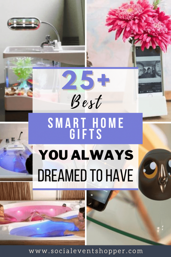 25+ Best Smart Home Gifts You Always Dreamed to Have Pinterest