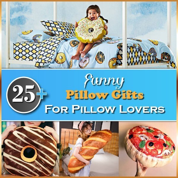 25+ Funny Pillow Gifts for Pillow Lovers Thumbnail