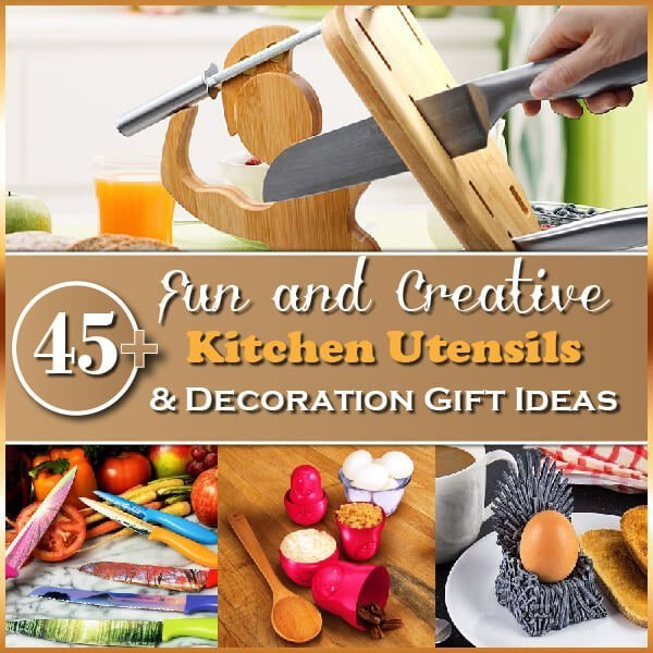 45+ Fun and Creative Kitchen Utensils & Decoration Gift Ideas Thumbnail