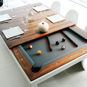 Combined Billiard Dining Table
