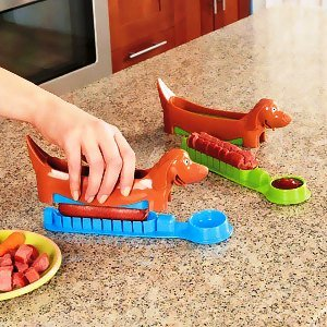 Hot Dog Holder and Slicer