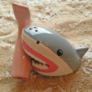 Magnetic Shark Salt Pepper Shaker