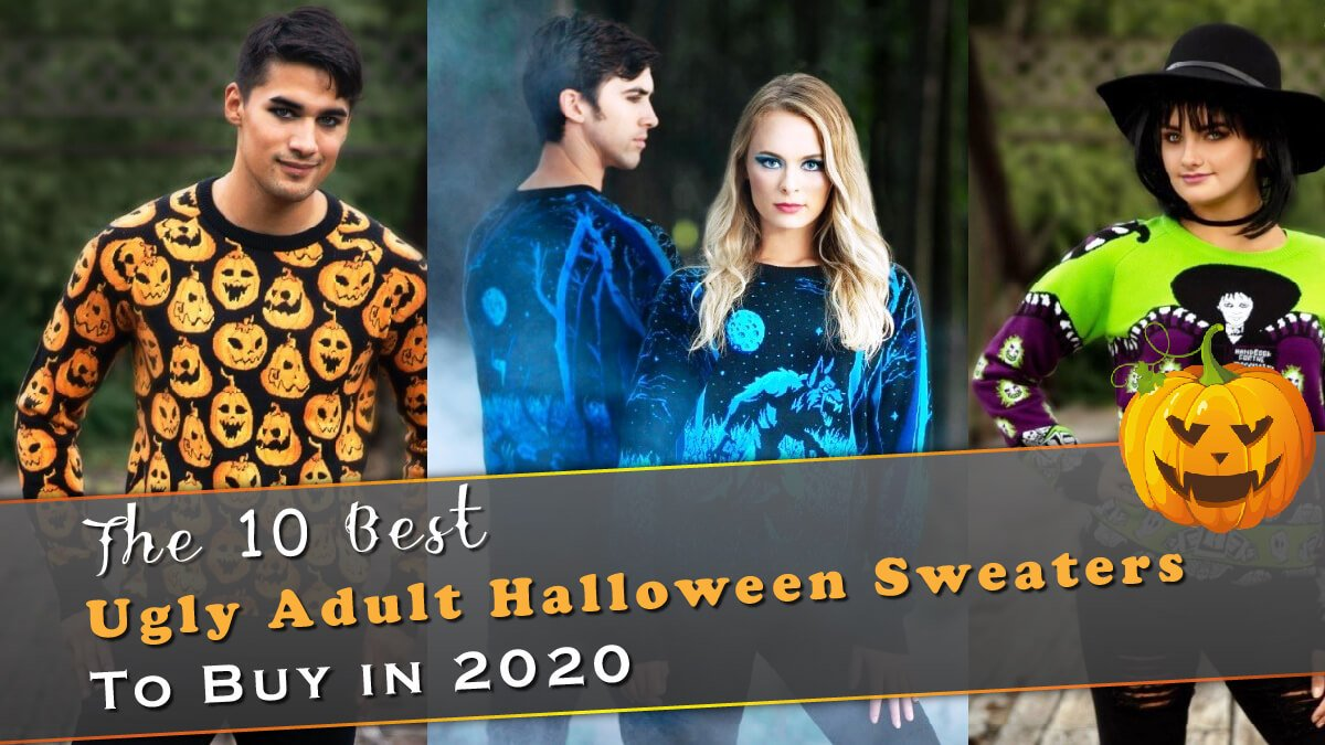 The 10 Best Ugly Adult Halloween Sweaters to Buy in 2020 Banner