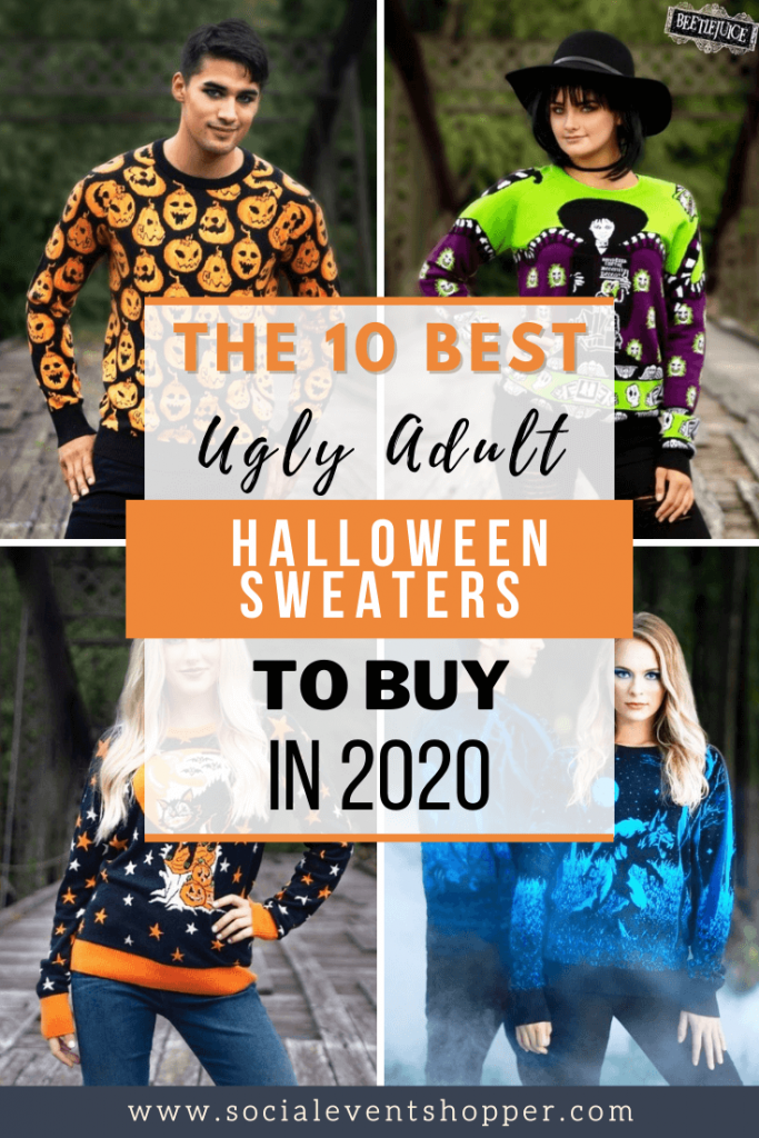 The 10 Best Ugly Adult Halloween Sweaters to Buy in 2020 Pinterest