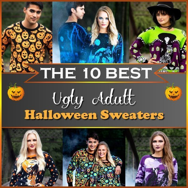 Ugly Sweater Halloween 2020 The 10 Best Ugly Adult Halloween Sweaters to Buy in 2020