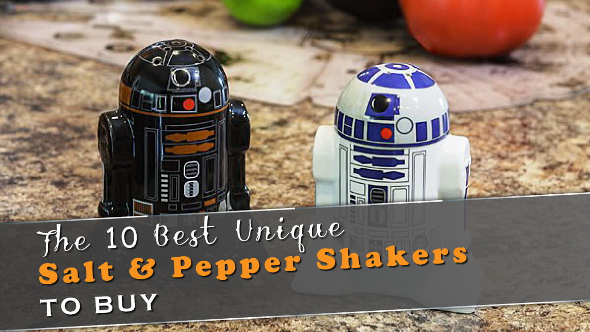 The 10 Best Unique Salt & Pepper Shakers To Buy in 2020 Banner