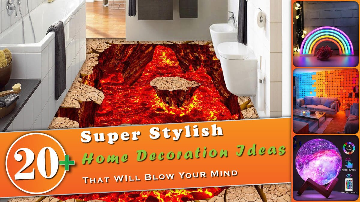 20+ Super Stylish Home Decoration Ideas Banner