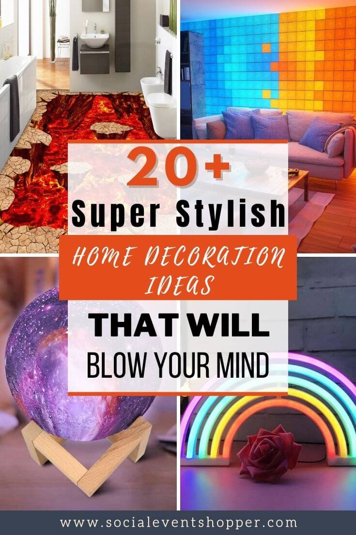 20+ Super Stylish Home Decoration Ideas Pinterest