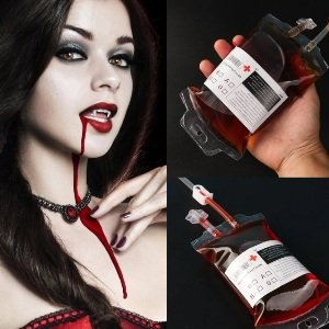 Halloween Blood Drink Bags