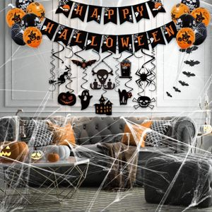 Halloween Party Hanging Decorations Kit