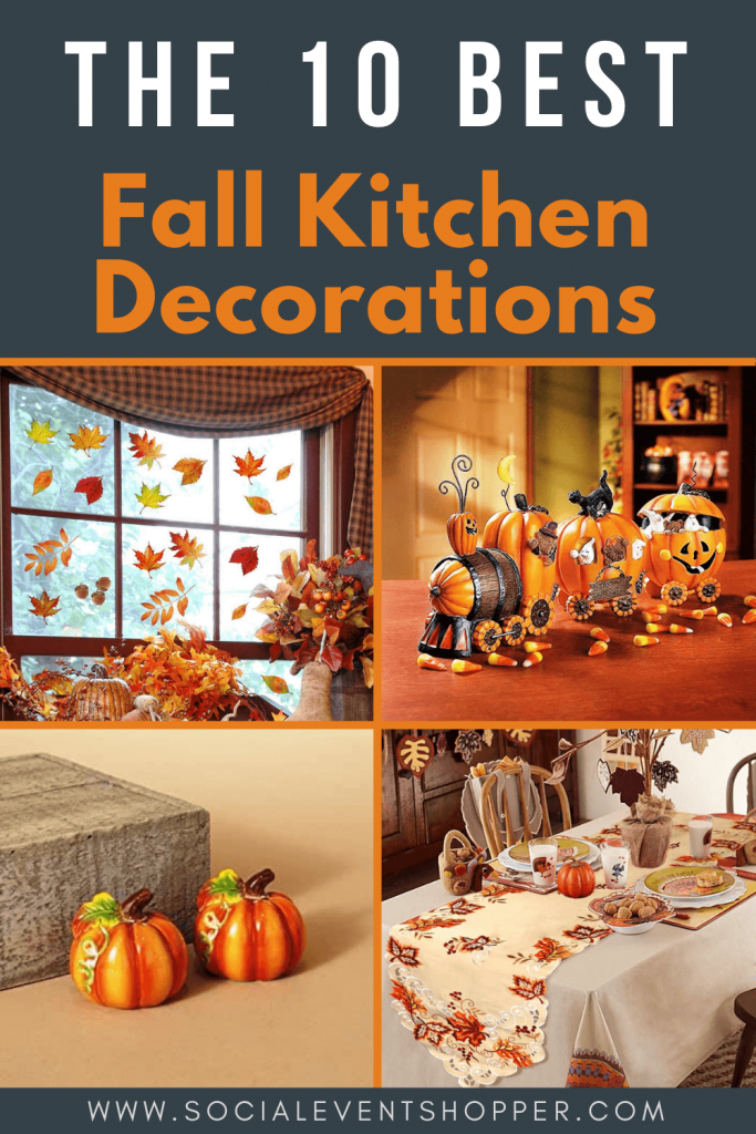 The 10 Best Fall Kitchen Decorations Pinterest