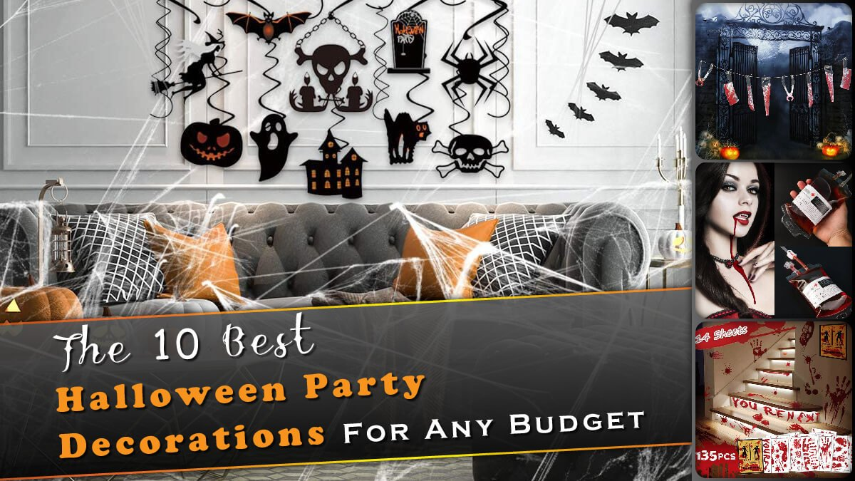 The 10 Best Halloween Party Decorations Banner