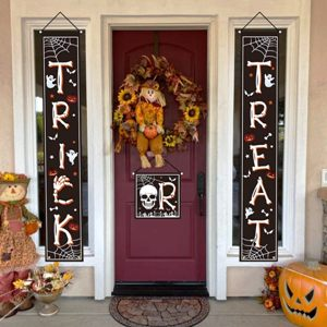 Trick or Treat Front Hanging Banners