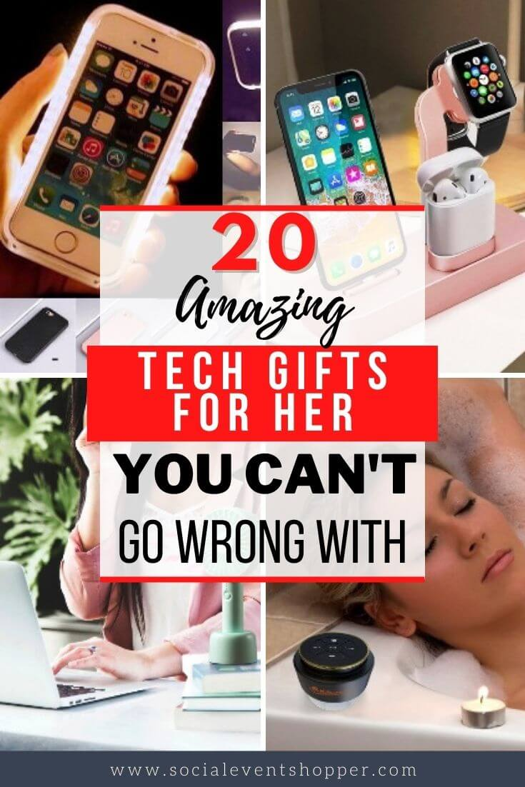 20 Amazing Tech Gifts for Her Pinterest