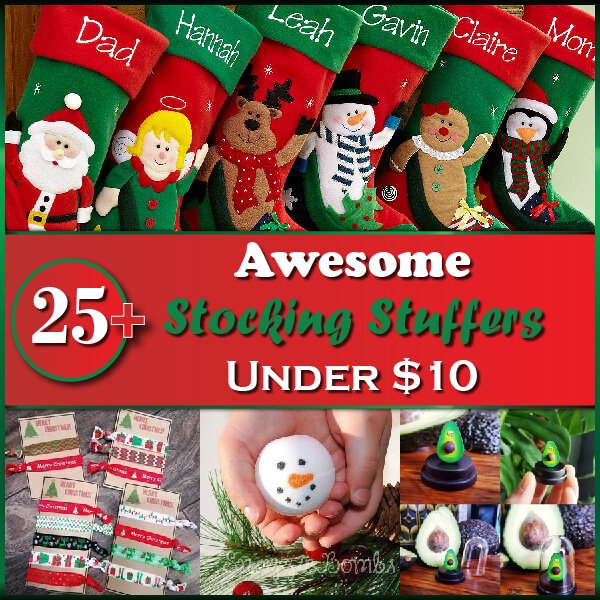 25+ Awesome Stocking Stuffer Gifts Under $10 Thumbnail