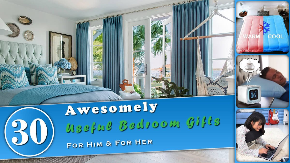 30 Awesomely Useful Bedroom Gifts Banner