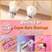 35+ Quirky & Super Cute Earrings for Girls Thumbnail