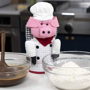 Chef Pig Oven Mitts