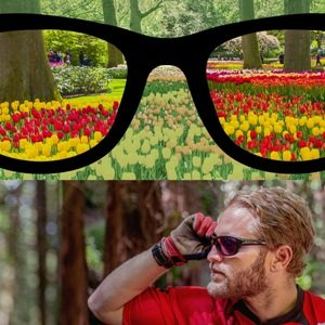 Color Blindness Correcting Glasses