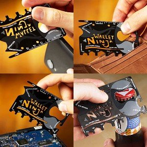 Credit Card Sized Multitool