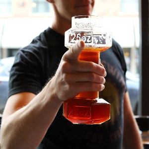 Dumbbell Beer Glass