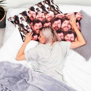 Personalized Face Pillow Case