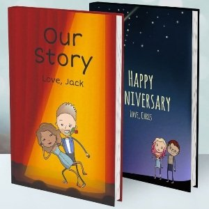 Personalized Our Love Story Book