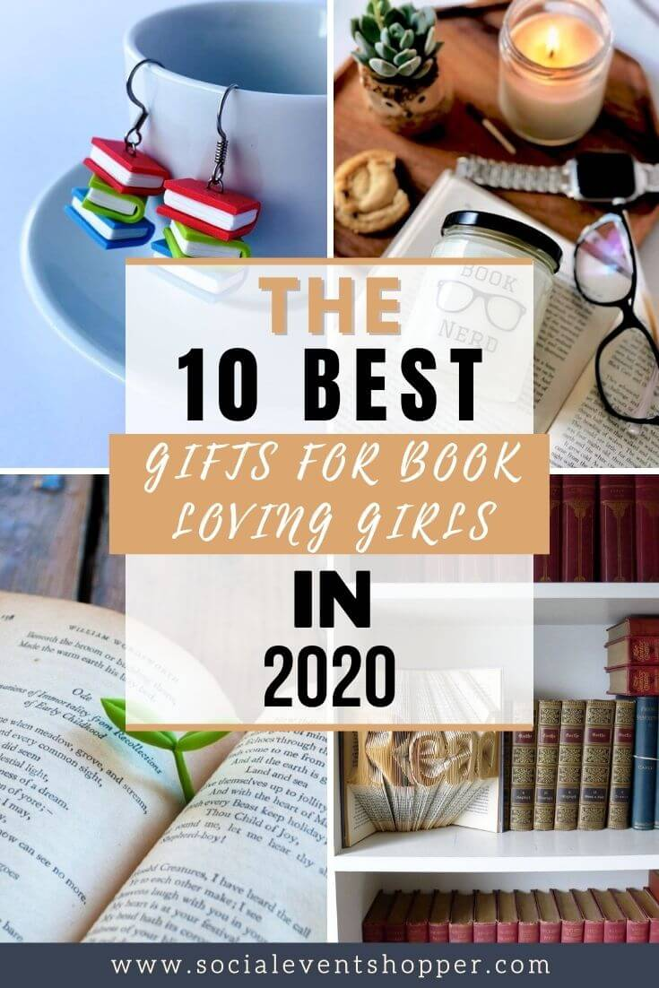 The 10 Best Gifts for Book Loving Girls Pinterest