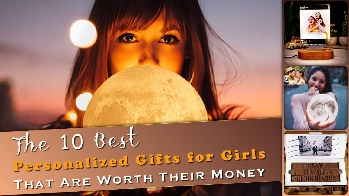 The 10 Best Personalized Gifts for Girls Banner