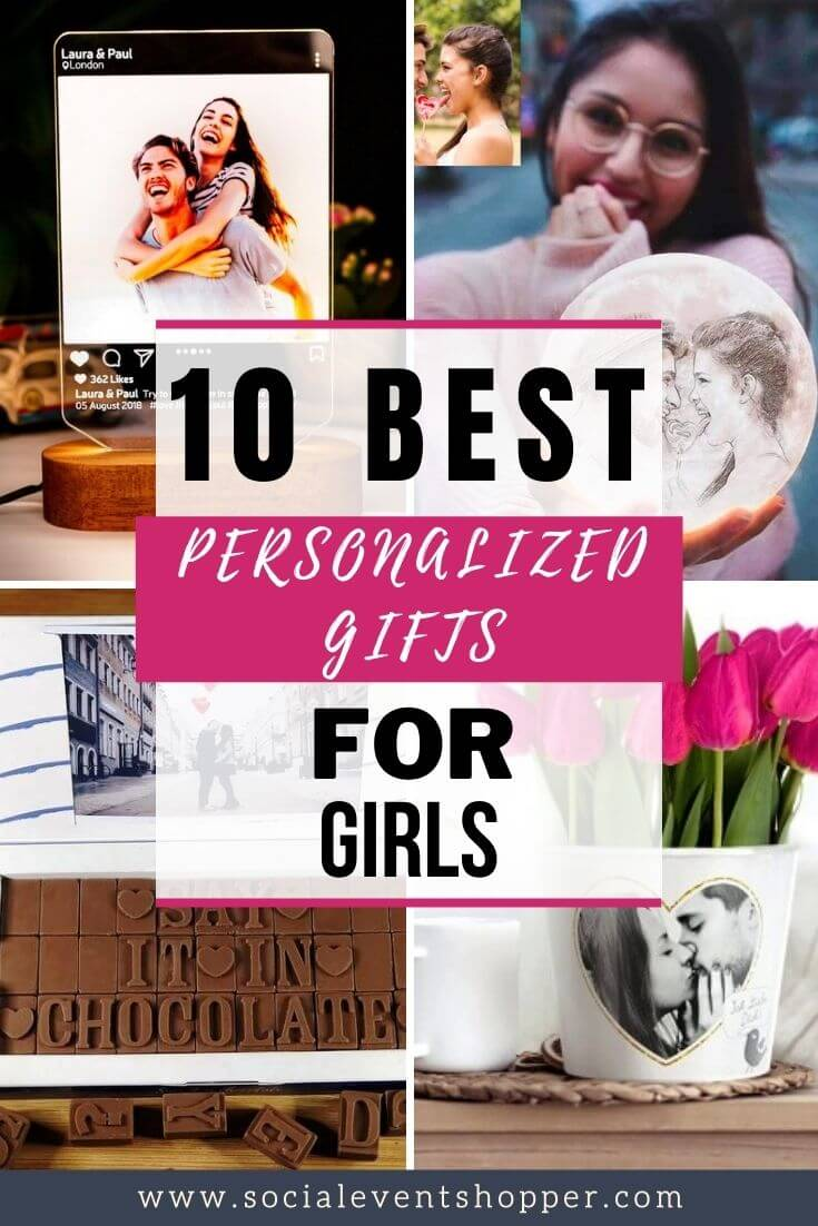 The 10 Best Personalized Gifts for Girls Pinterest