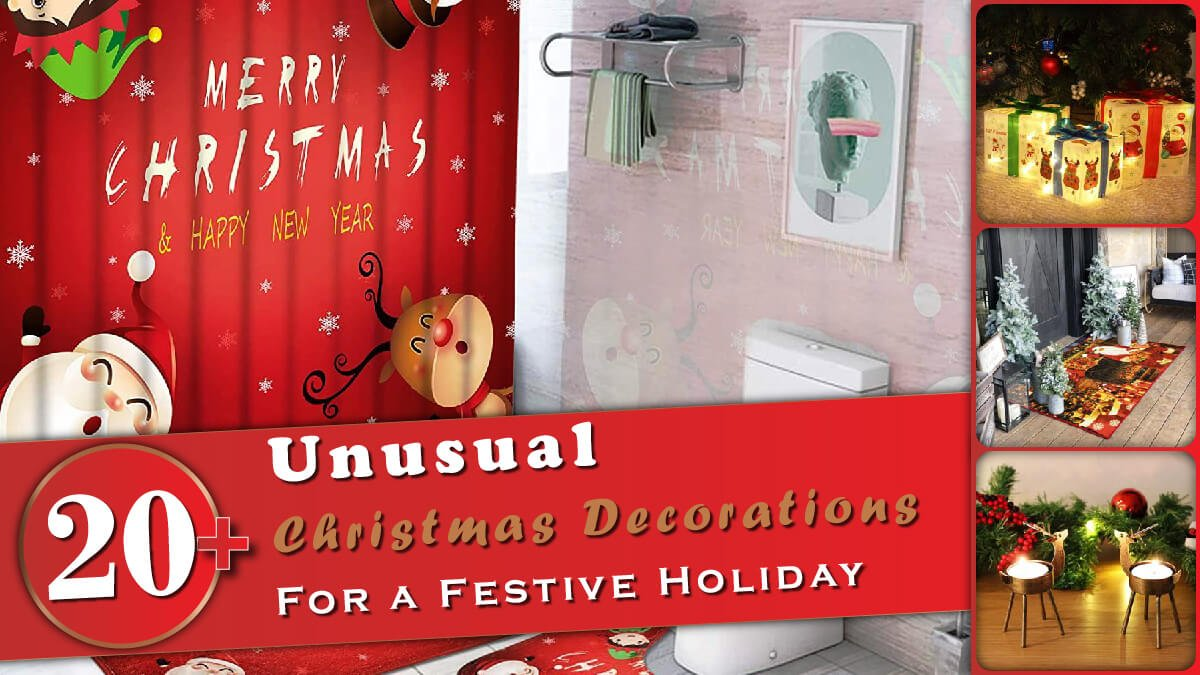 20+ Unusual Christmas Decorations Banner