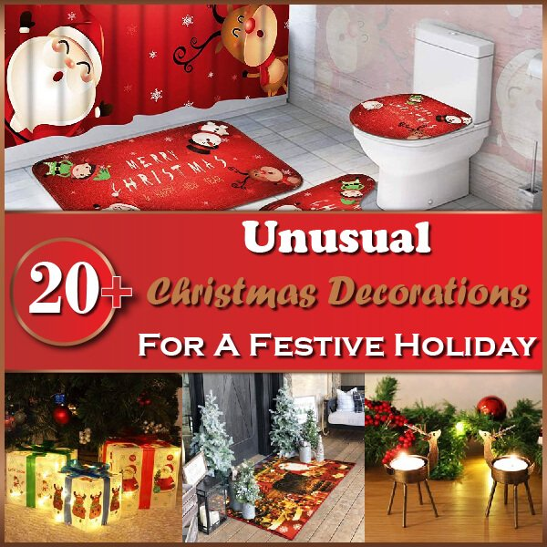 20+ Unusual Christmas Decorations Thumbnail