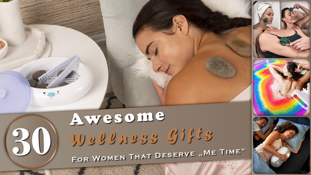 30 Awesome Wellness Gifts for Women Banner