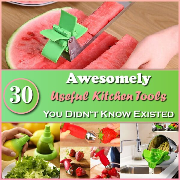 30 Awesomely Useful Kitchen Tools Thumbnail