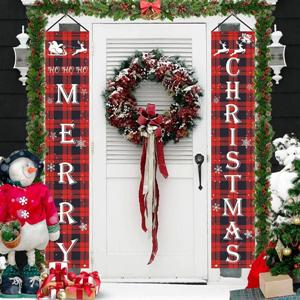 Merry Christmas Outdoor Banner