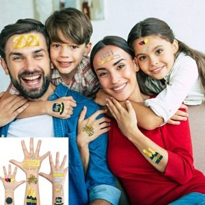 New Year Party Temporary Tattoos