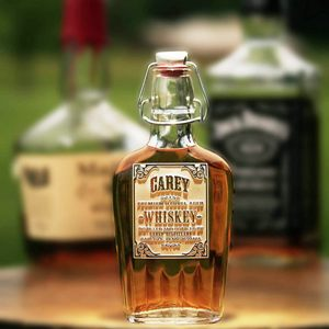Personalized Whiskey Flask