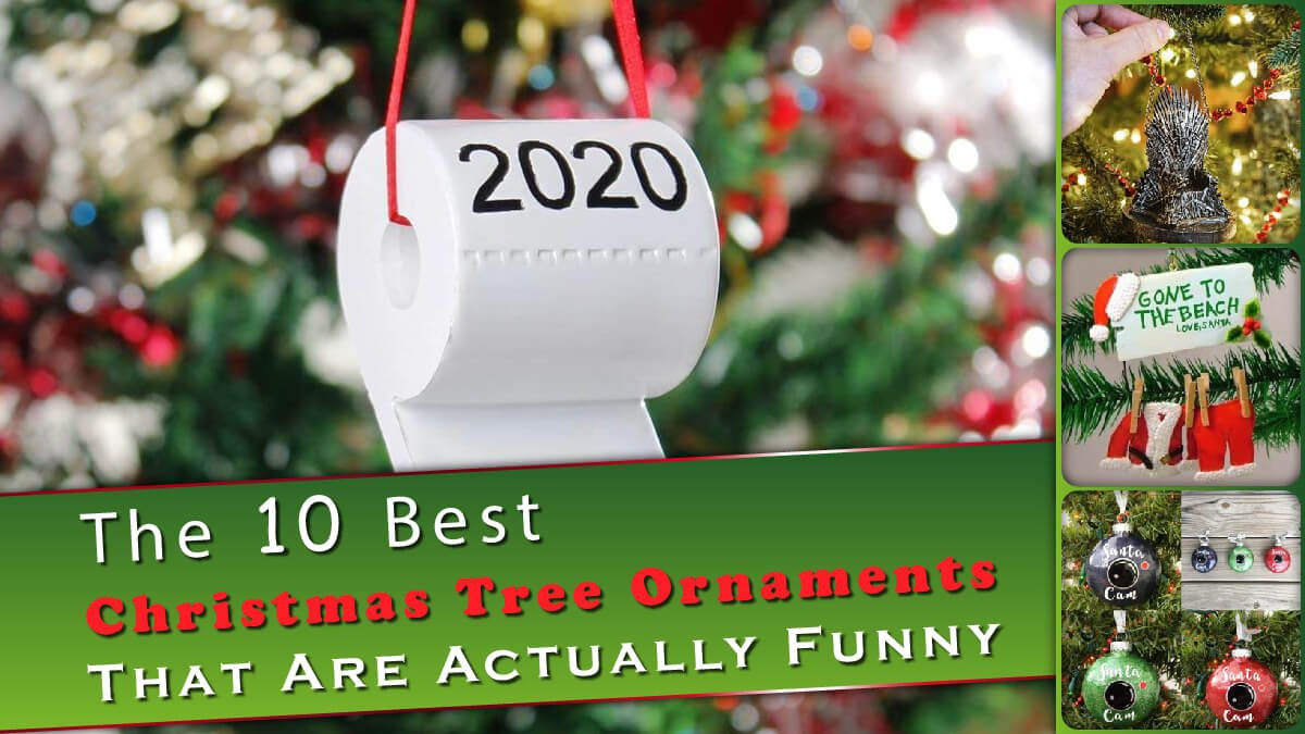 The 10 Best Christmas Tree Ornaments Banner