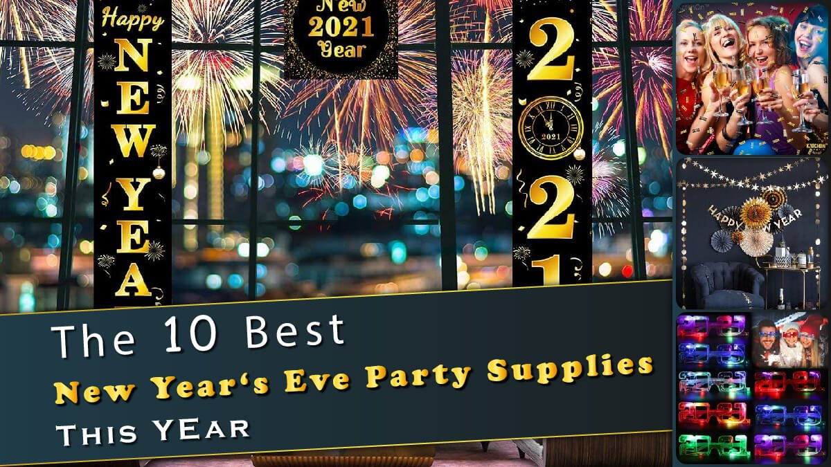 The 10 Best New Year's Eve Party Supplies Banner