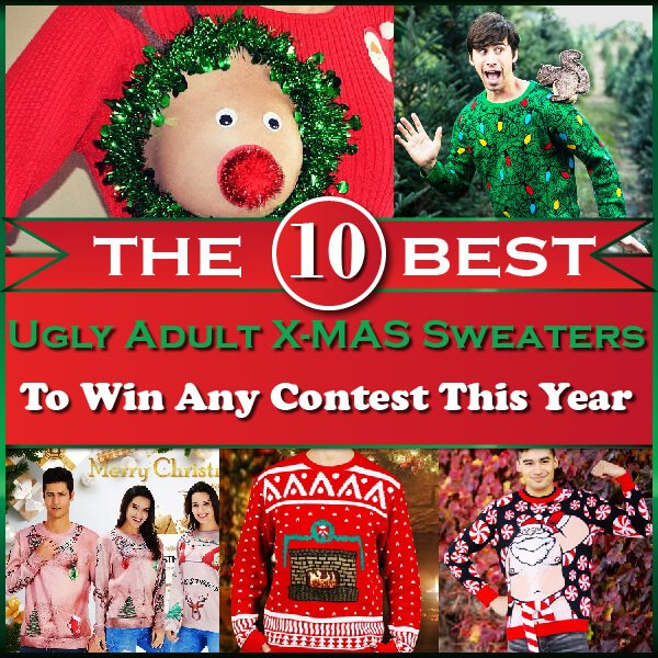 The 10 Best Ugly Adult Christmas Sweaters Thumbnail