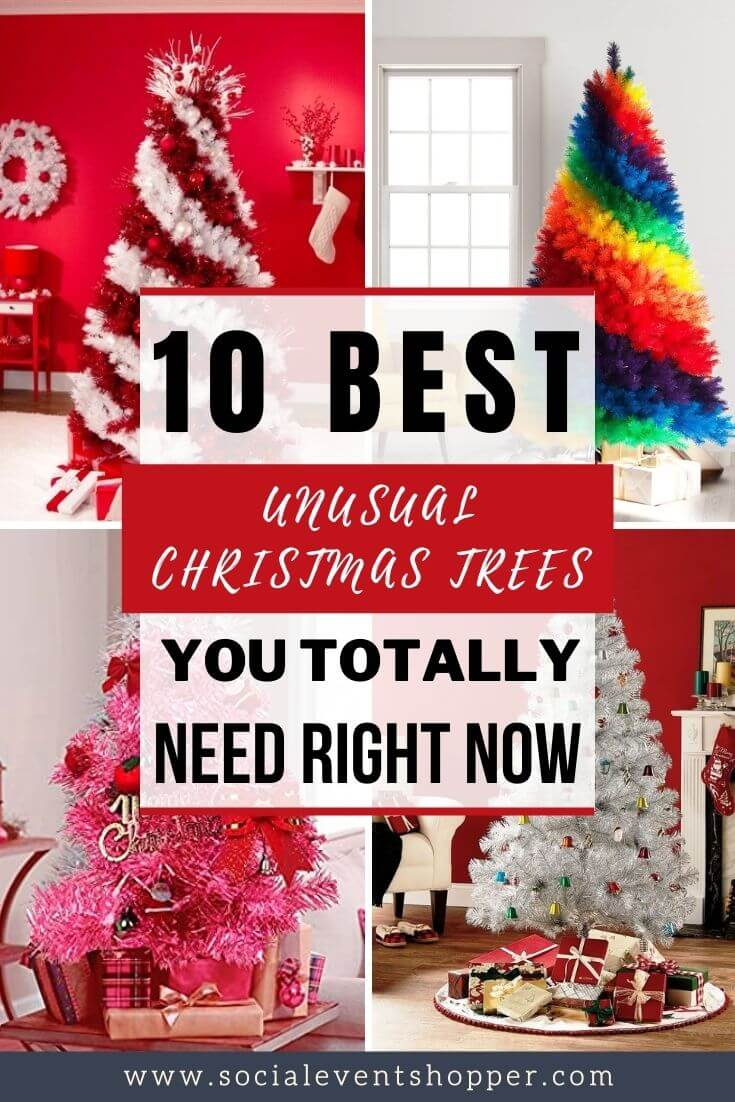 The 10 Best Unusual Christmas Trees Pinterest